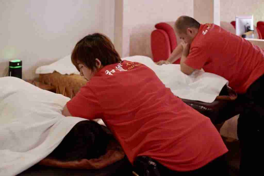 Soothe aching muscles with an excellent tuina body massage at Pure Relaxology!